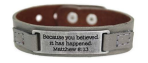 Inspirational Bracelet 8:13 02208