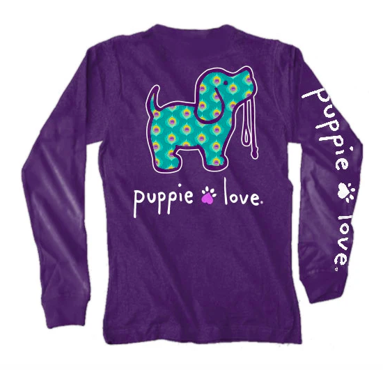 Peacock Puppie Love L/S 03678