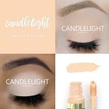 Candlelight ShadowSense Creme to Power Eyeshadow