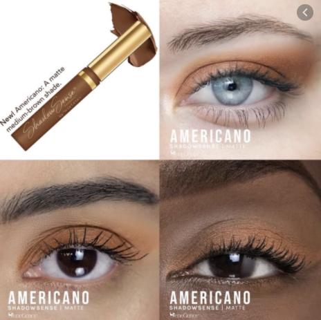 Americano ShadowSense Creme to Power Eyeshadow