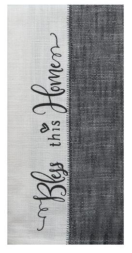 Farmhouse Bless Tea Towel 03295