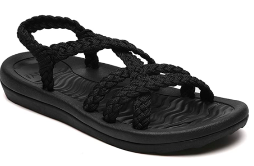 Braided Walking Sandals 03316