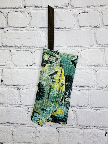 Blooming Chartreuse Clutch Wallet