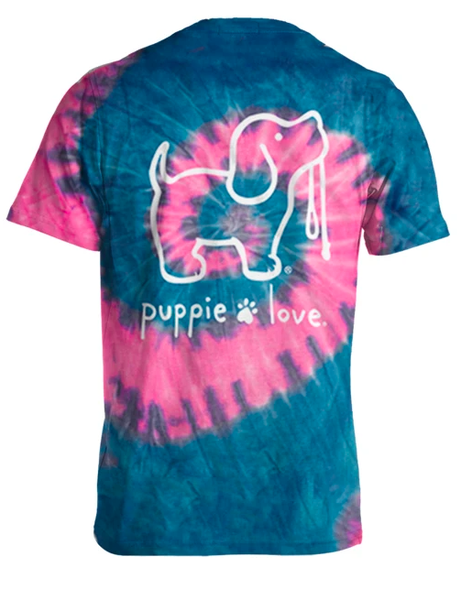 Bubblegum Tie dye Puppie Love 03667