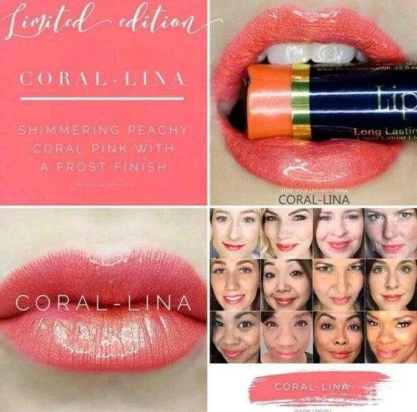 Coral-Lina LipSense by SeneGence