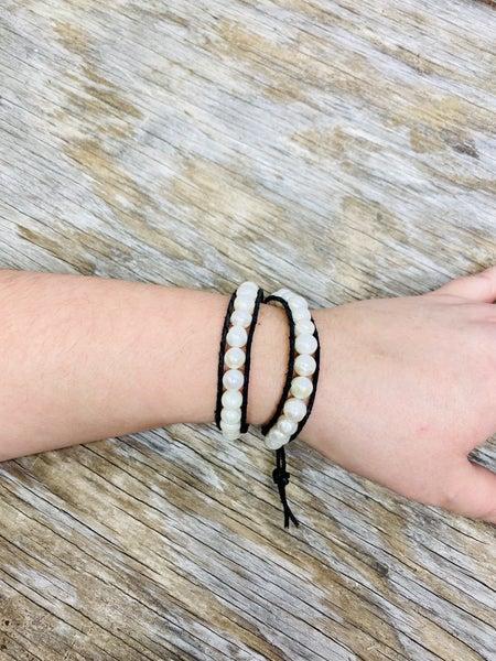 Pearl Wrap Bracelet 03372