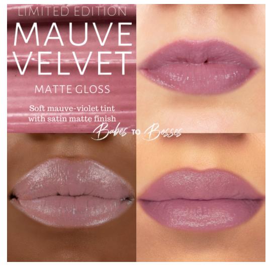 Mauve Velvet Matte Gloss