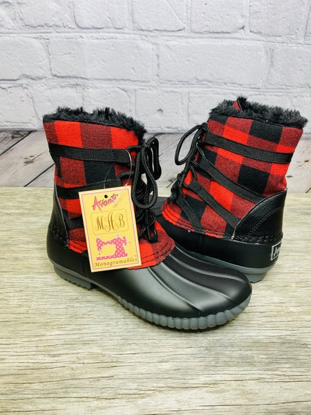 Lace up Rain Boot 02261