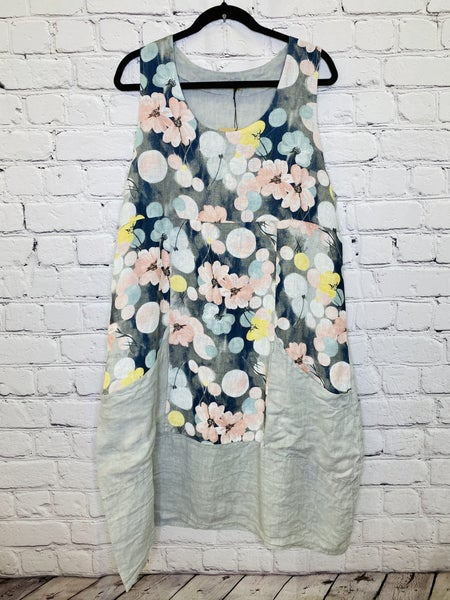 Linen Tank Dress 03561