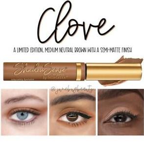 Clove ShadowSense Creme to Power Eyeshadow