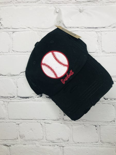 "Glitter ""Baseball"" Baseball Hat 01081"