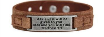 Inspirational Bracelet 7:7 02229