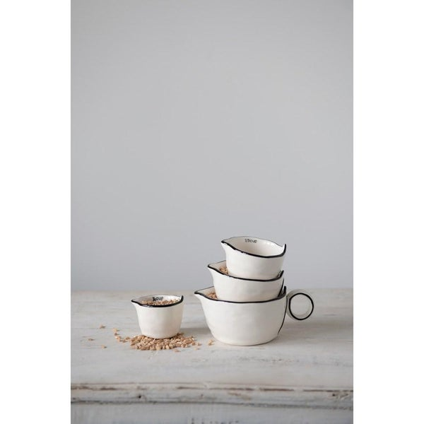Stoneware Measuring Cups 02972