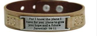 Inspirational Bracelet 29:11 02228