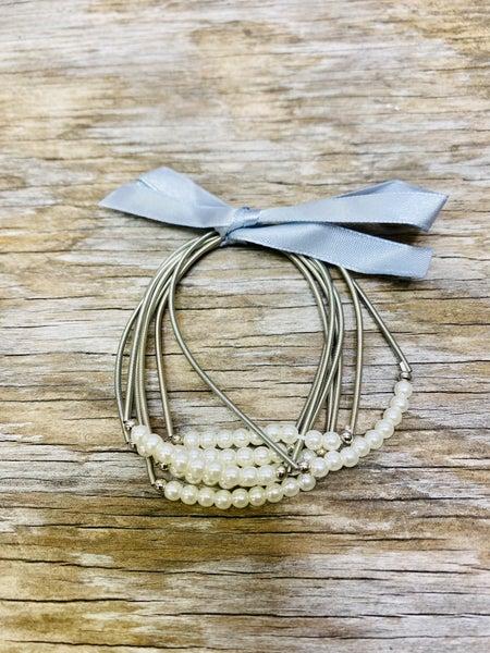 Piano Wire Bracelet 03363