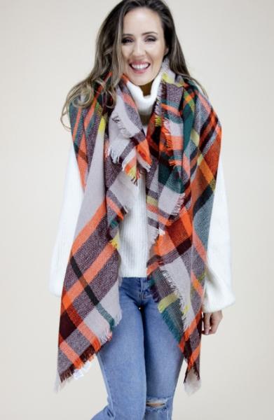 02517- Blanket Scarf
