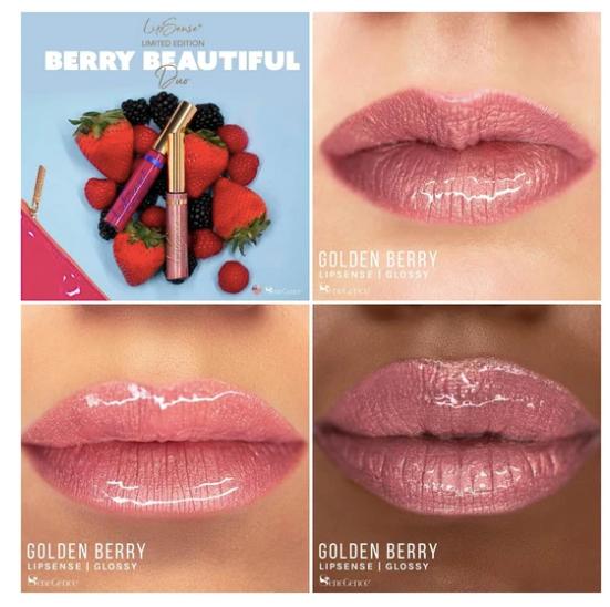 Golden Berry LipSense by SeneGence