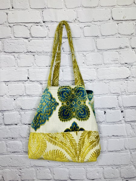 Crushing It NEW Button Tote