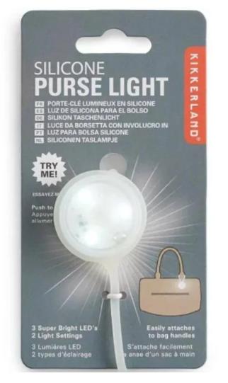 Silicon Purse Light 03578