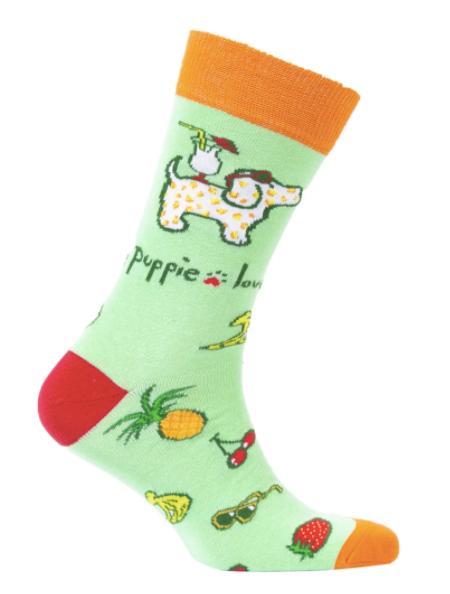Crew Puppie Love Socks 03679