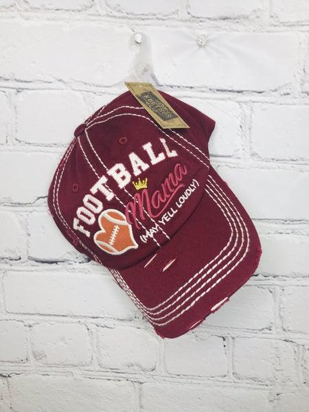 Football Mama Baseball Hat 01080