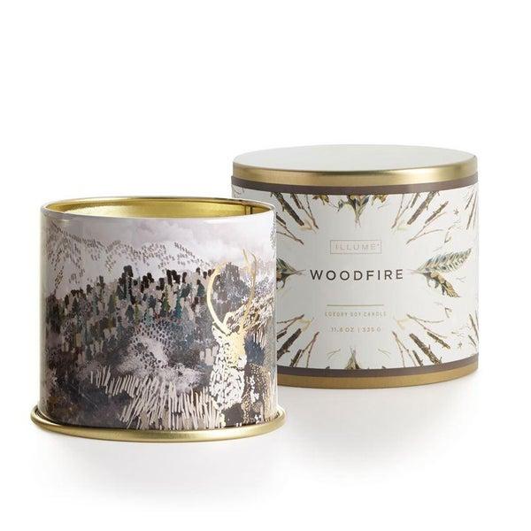 Woodfire Large Tin 02232