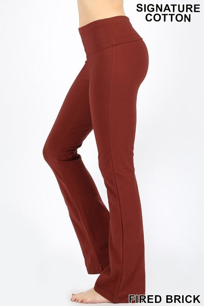 Fold Over Yoga Pants 03161
