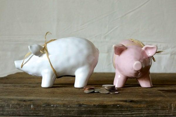Ceramic Piggy Bank 02278