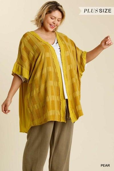 Half Sleeve Kimono 03576