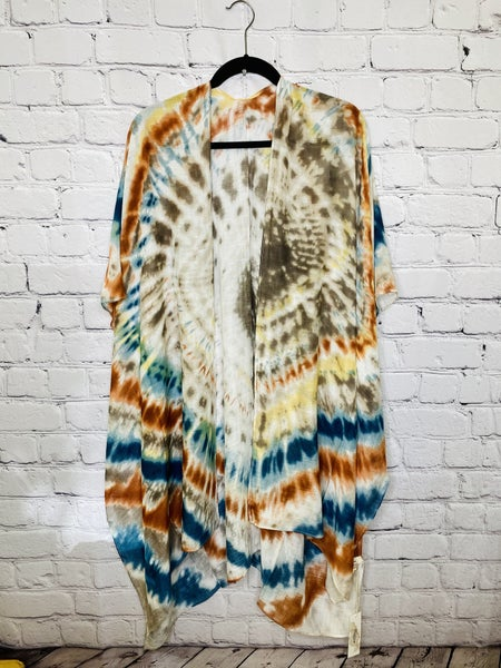 Tie Dye Kimono 03784