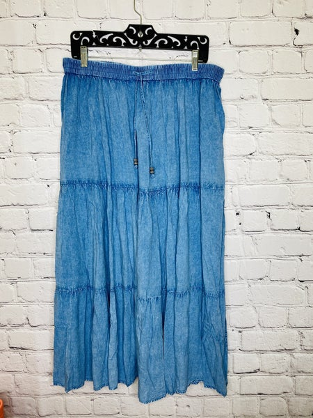 Denim Skirt 03701