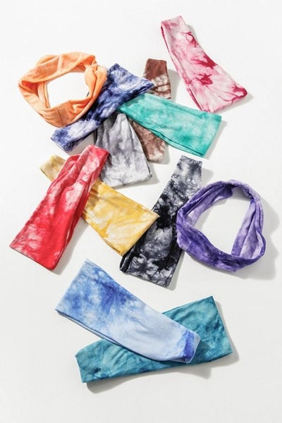 Tie-Dye Stretchy Headband 02854