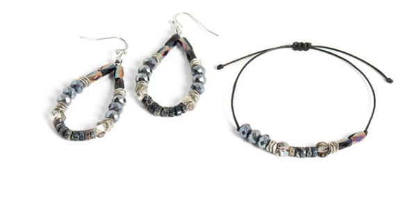 Bracelet & Earring Set 03207