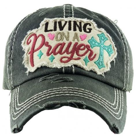 Living on a Prayer Baseball Cap 03549