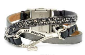 You Are Beautiful Cuff Bracelet 02206