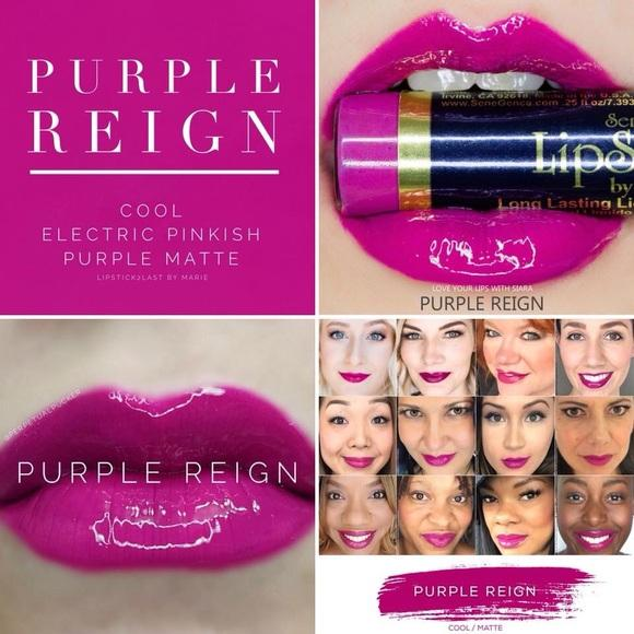Purple Reign LipSense by SeneGence
