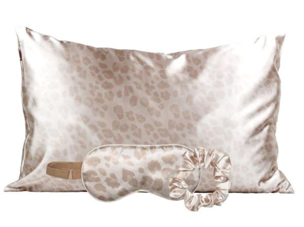 Leopard Satin Sleep Set 03537