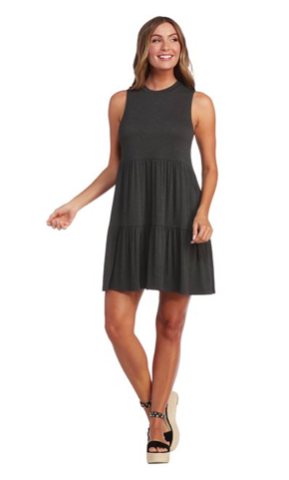 Charcoal Tully Dress 03494