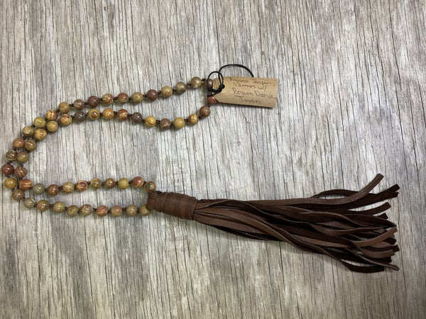 02490- Tassel Necklace- O