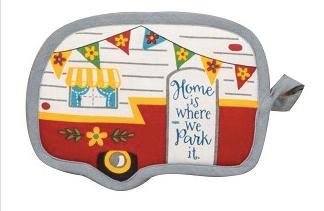 Happy Camper Potholder 03297