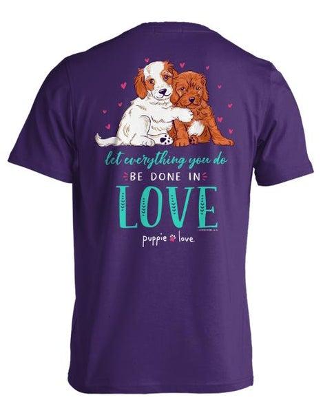 Puppie Love T-Shirt 02042