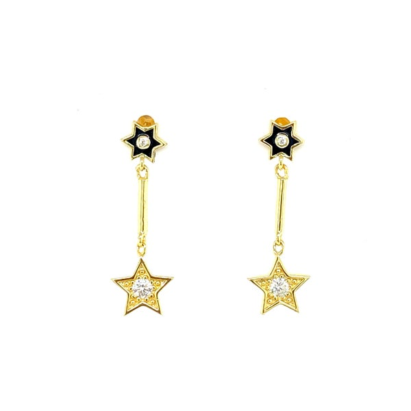 Just A Hint of Sparkle Star Earrings