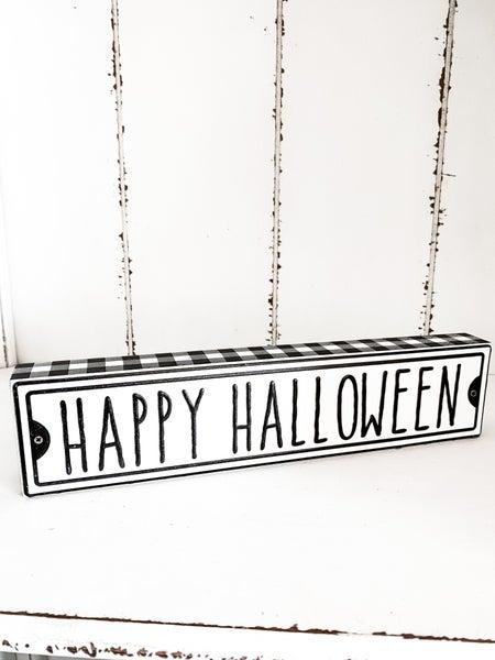 Halloween Street Box Sign