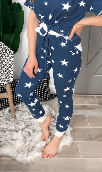 (3 Colors!!) Starry Eyed Lounge Joggers