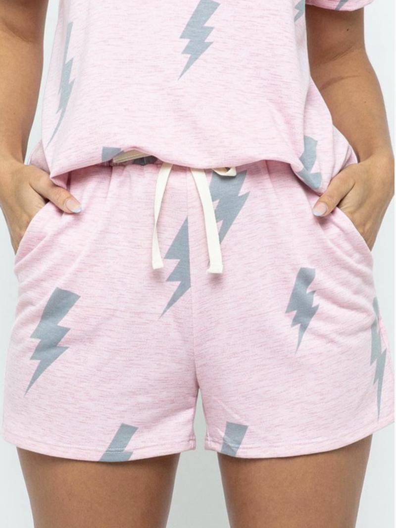 S-XL (2 colors!) Lightning Bolt Comfy Shorts