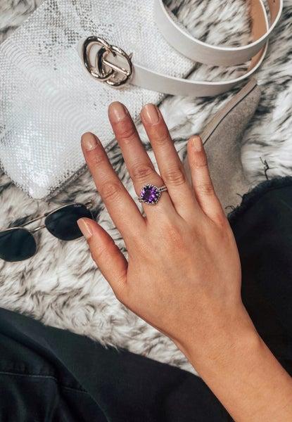 (4 Stone Options!) The Free Thinker Single Stone Ring