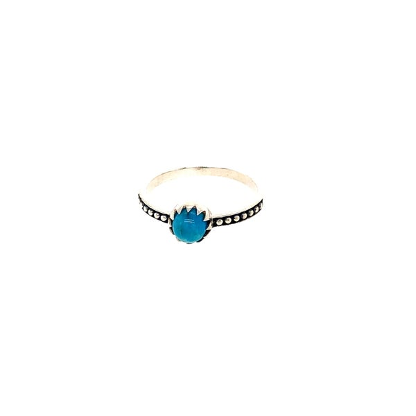 Simple Dainty Turquoise Ring