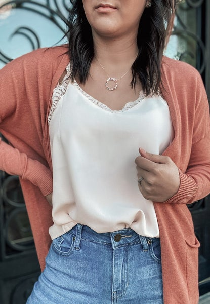 S-3X (4 colors!) Loose Fitting Pocket Cardigan