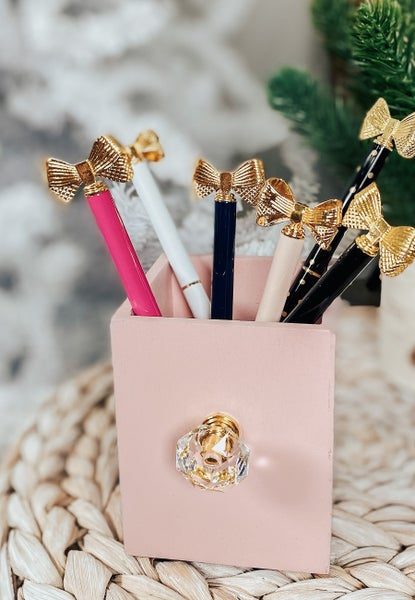 Pretty Bow Pens (7 Colors!)