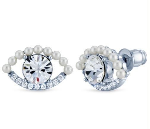 Pretty Eye Swarovski Crystal Earrings